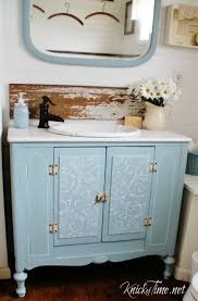 bathroom vanity makeover ideas farmhouse bathrooms and projects knick of time