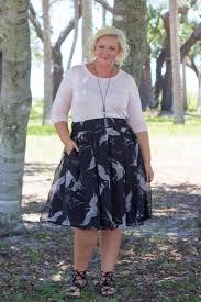 plus size kai chiffon midi skirt crane print u2013 society plus