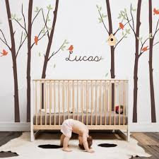 Personalised Baby Nursery Decor Baby Nursery Decor Creatives Decals Wall Stickers For Baby
