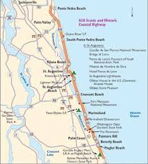 florida highway map florida scenic drive a1a coastal highway howstuffworks