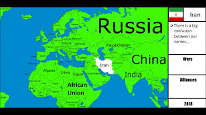 Eurasia Map Alternate Future Of Afro Eurasia 2 I The Jiop Mapping Youtube