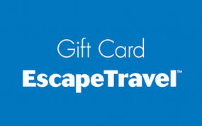 travel gift cards escape travel gift card digital gift cards prezzee