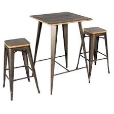 Bar Stool And Table Sets Modern Bar Pub Tables Allmodern