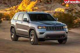 jeep cherokee trailhawk white 2017 jeep grand cherokee trailhawk review wheels