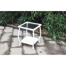 white wicker side table white wicker side table baka 233