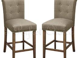 bar high back tufted frontgate bar stools with nailhead trim for
