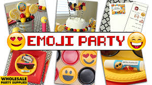 party supply wholesale emoji party ideas party ideas activities by wholesale party