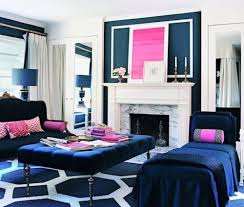 color roundup using navy blue in interior design the colorful