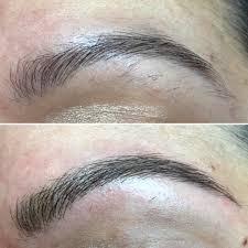 Hair Stroke Eyebrow Tattoo Nyc Eyebrow Microblading In New York City Salon V