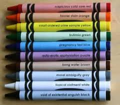 funny paint names crayola crayon colors for adults paint cards random and humour