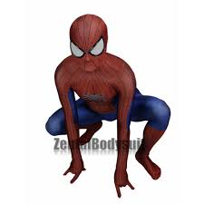 spider man 2 costume 3d spiderman costume