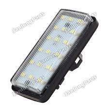 lexus yellow light 2x 18 smd license plate lights lamps for lexus lx470 toyota land