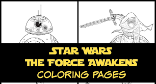 star wars force awakens coloring pages activities desert