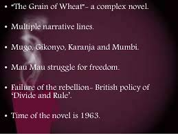 Betrayal Themes In Literature | theme of betrayal in the grain of wheat by ngugi wa thiongo