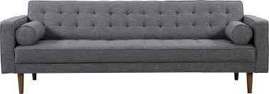 Grey Modern Sofa Corrigan Studio Nietos Mid Century Modern Sofa Reviews Wayfair
