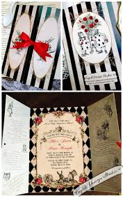 elegant alice in wonderland invitation mad hatter tea party