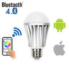 light bulbs controlled by iphone smart led dimmable light bulb