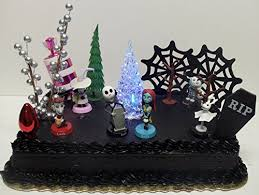 nightmare before christmas cake toppers christmas cake toppers