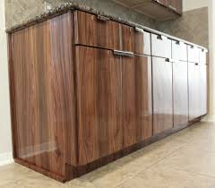 wood kitchen cabinets houston bolivian rosewood cabinets modern kitchen houston by
