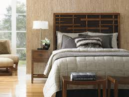 island fusion shanghai panel headboard lexington home brands