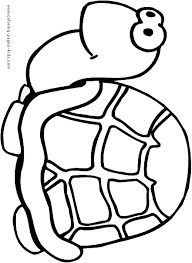 cute turtle coloring pages kids coloring pages