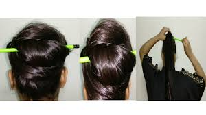 quick and easy hairstyles for running 2 minutes 2 easy hairstyles with a pencil quick hair styles when are