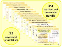 Gcse Simultaneous Equations Worksheet Solving Simultaneous Equations Graphically Ks4 By Magictrickster