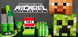 minecraft party 15 best minecraft party ideas images on birthday party