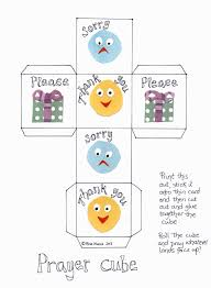 flame creative children u0027s ministry prayer cube for 3 5s or any