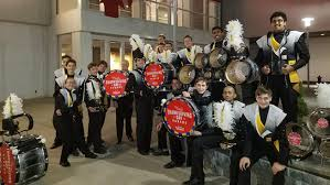 marching band from trumbull performing in macy s thanksgiving