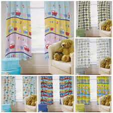 Ready Made Children S Curtains Ready Steady Bed Childrens Kids Bedroom Tape Top Ready Made