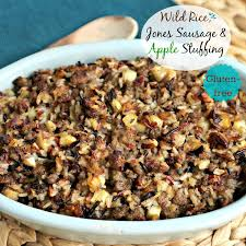 easy dressing for thanksgiving wild rice jones sausage u0026 apple stuffing simply sated