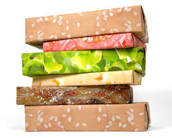 best wrapping paper gift couture hilarious hamburger wrapping paper design milk
