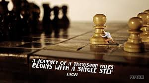 inspirational quote journey a journey of a thousand miles begins with a inspirational quote