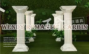 wedding supply 90cm wedding plastic column pillars walkway flower
