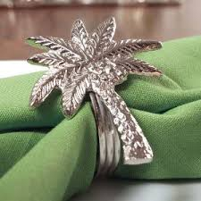 palm tree napkin rings memento palm springs