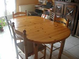 table cuisine en pin table cuisine ovale table de cuisine ovale bois en pour