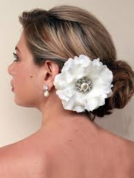 Flower Decorations For Hair 7 Best Hair Flower Ideas Images On Pinterest Bridal Hair