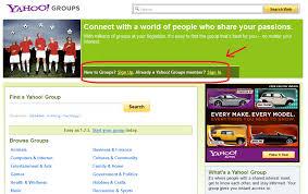 membuat group di yahoo mail cara membuat milis mailing list di yahoo groups