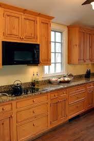 Building Traditional Kitchen Cabinets Knotty Pine Cabinets Granite Counter Top Traditional Kitchen