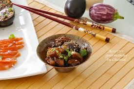 cuisine des aubergines aubergines a la japonaise marinées au miso et à la sauce soja