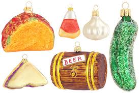 food ornaments for serious eats