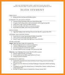 13 Student Resume Examples High by 13 Sample Of High Student Resume Azzurra Castle Grenada