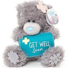get well teddy gift me to you get well soon teddy