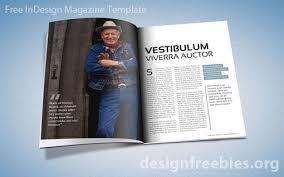 magazine indesign template indesign indesigntemplates free