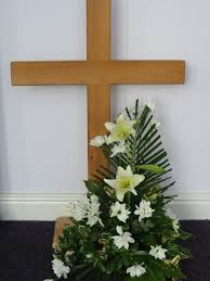 religious easter decorations easter floral arrangements for church images easter flowers