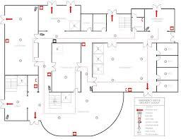 fire exit floor plan template essentials 3d floor plan 8134 design pinterest hospital