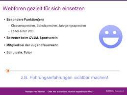 Virtuelle Chronik Der Deutschen Jugendfeuerwehr Trailer Manage Your Identity Datenschutz Geht Zur Schule Ppt