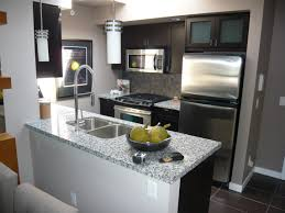 kitchen small interior kitchen design granite countertop island