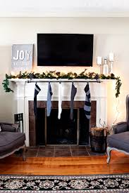 How To Hang A Drapery Rod Classy And Affordable Diy Stocking Hanger Maison De Pax